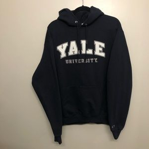 Champion Yale Univeristy pullover hoodie blue